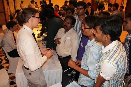 Pics from Hyderabad Education Fair-Nov. 7th
