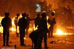 Clashes Around Muslim Brotherhood's Main Headq...