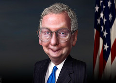 Mitch McConnell - Caricature
