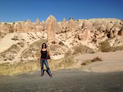 Actress Sanjjanaa holiday in Capadokiya (2)