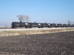 Union Pacific Railroad, Ames Yard, Ethanol, Ta...