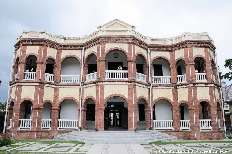 【台南】臺南縣知事官邸.美麗的磚造巴洛克洋房