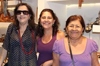 Clara Roque, Milene Pereira e Célia Pereira