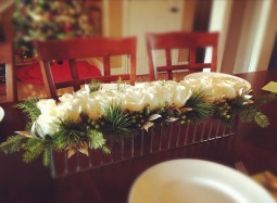Holiday Centerpiece  - Shirley's Flowers & Gifts, Inc., in Rogers, Ark.
