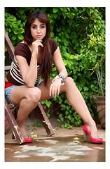 South Actress Sanjjanaa's Never give up tatoo (2)
