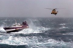 Royal Navy Sea King Helicopter Comes to the Ai...