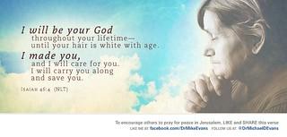 Isaiah 46:4  - Mike Evans