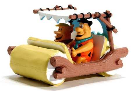 Mattel Flintstones car