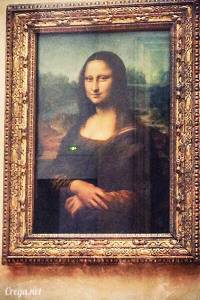 2016.09.04 | 看我的歐行腿| 法國巴黎羅浮宮,金屋藏嬌裡的那抹淺淺微笑 13