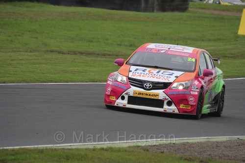 Jake Hill in BTCC race one at Knockhill Weekend 2016