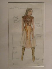 Costume sketch by Michele Clapton