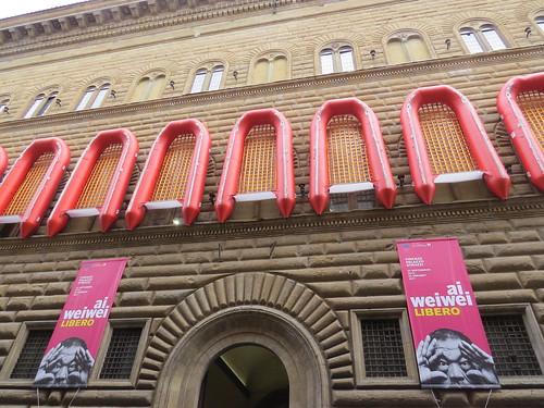 Palazzo Strozzi by Ai Weiwei