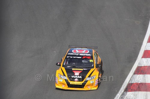 Matt Neal during the BTCC Brands Hatch Finale Weekend October 2016