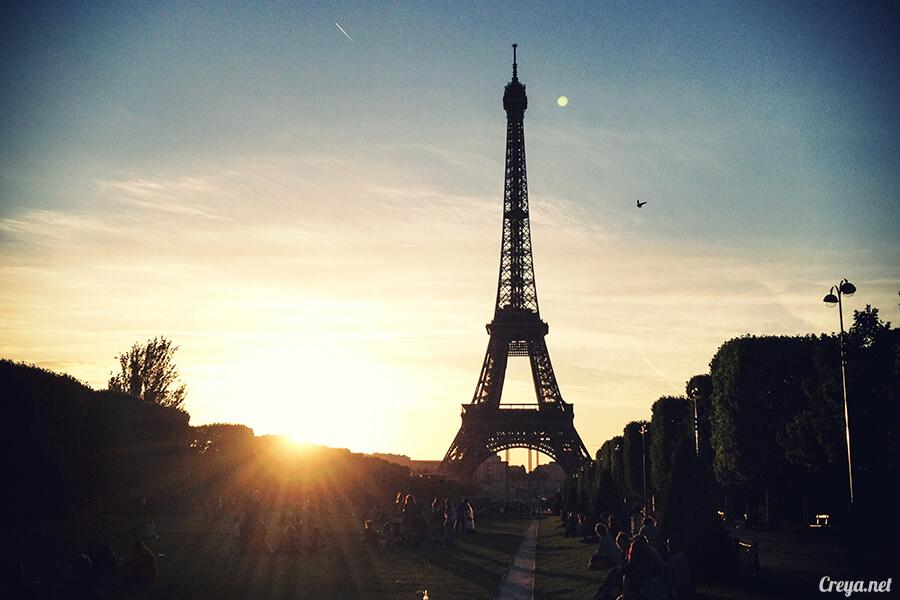 2016.10.09 | 看我的歐行腿| 艾菲爾鐵塔,五個視角看法國巴黎市的這仙燈塔 01