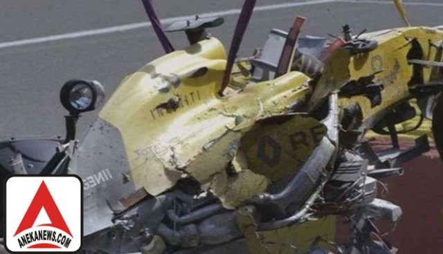 #Sports : Alami Kecelakaan Hebat, Pembalap Renault Hanya Cedera Ringan