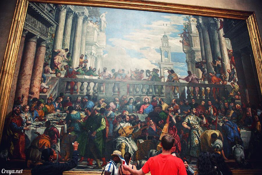 2016.09.04 | 看我的歐行腿| 法國巴黎羅浮宮,金屋藏嬌裡的那抹淺淺微笑 14
