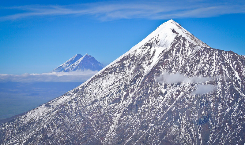Volcán Kliuchevskoi
