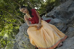 South actress MADHUCHANDAPhotos Set-3-HOT IN TRADITIONAL DRESS (2)