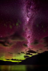 Our Galaxy over Queenstown
