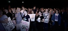 Protest Against Campbell Newman