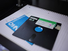 "my old 5 1/4"" floppy disk"