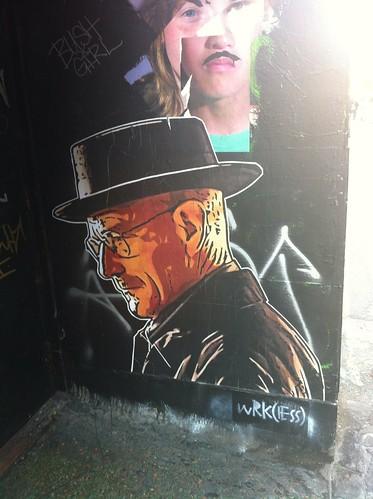 Breaking Bad graffiti