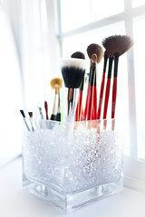 Day 225: Makeup Brush Holder