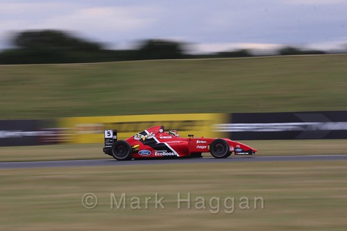 Frank Bird in British Formula 4 during the BTCC 2016 Weekend at Snetterton