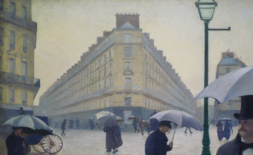Gustave Caillebotte, Paris Street; Rainy Day, ...