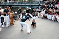 Capoeira performance