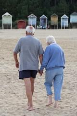 Still holding hands