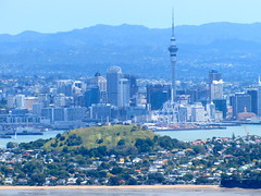 Auckland city from Rangitoto
