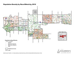 Population Density by Race/Ethnicity, 2010