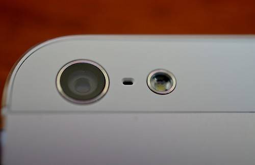 iPhone 5 camera and flash