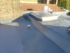 liquid rubber SD650 By 3m flat roofing 8