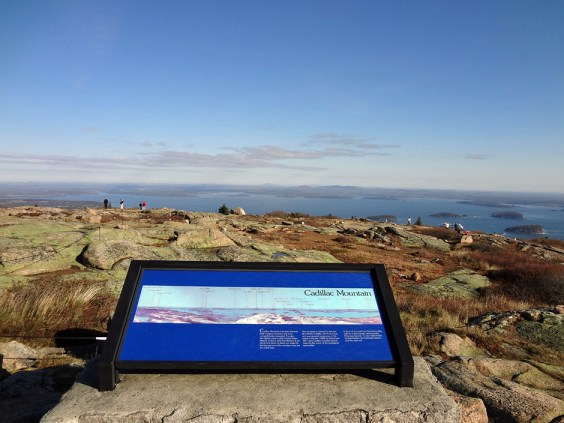 Cadillac Mountain Summit in Acadia National Park