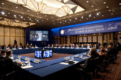 Development Committee at the 2012 Tokyo Annual...