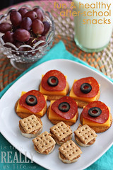 Healthy after-school snacks