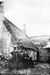 "Irvine Glasgow Vennel, the Heckling Shop in which Robert Burns (The Bard of Scotland) worked in the flax trade 1781-2, date of photograph unknown • <a style=""font-size:0.8em;"" href=""http://www.flickr.com/photos/36664261@N05/8137639820/"" target=""_blank"">View on Flickr</a>"