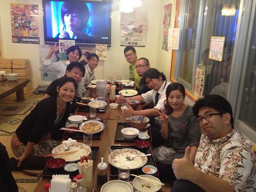WordPress 勉強会 in 沖縄の懇親会。