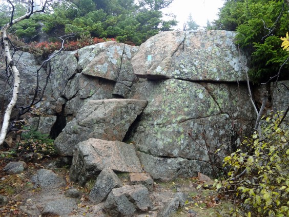 Cadillac Mountain Rock Scramble