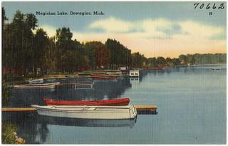 Magician Lake, Dowagiac, Mich.