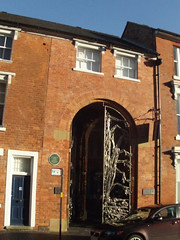 Jewellery Business Centre - 93-107 Spencer Street - Jewellery Quarter - entrance gates