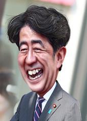 Shinzō Abe - Caricature