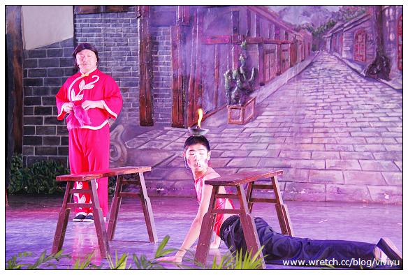 [四川]安仁戲院~經典川西表演.變臉、滾燈 @VIVIYU小世界