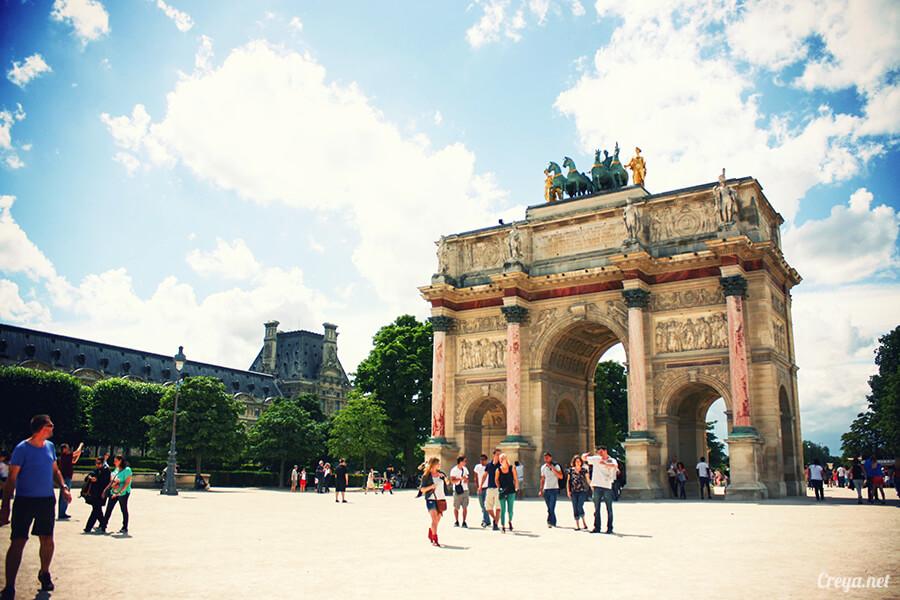 2016.8.28 | 看我的歐行腿| 法國巴黎凱旋門、香榭麗舍間的歷史之道 08