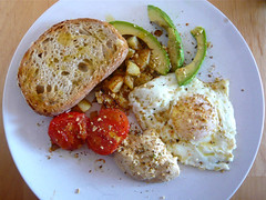 """Antipodean"" breakfast"