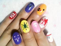 "Anime Fingernails 3 • <a style=""font-size:0.8em;"" href=""http://www.flickr.com/photos/66379360@N02/8439827643/"" target=""_blank"">View on Flickr</a>"