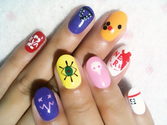 "Anime Fingernails 3 • <a style=""font-size:0.8em;"" href=""http://www.flickr.com/photos/66379360@N02/8439827643/"" target=""_blank"">View on Flickr</a>"