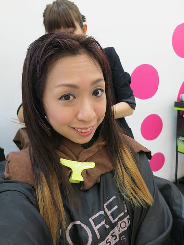 313 at Somerset, Caely Tham Shunji Matsuo, Caelyn Tham Shunji Matsuo 313, Caely Tham Shunji, dipdye versus ombre, Good hairsalons in Singapore, hair colour, hair dye, hair treatment, Ombre, nadnut, Dipdye, shunji matsuo, Shunji Matsuo @ 313, Shunji Matsuo Hair Salon at 313, singapore lifestyle blog